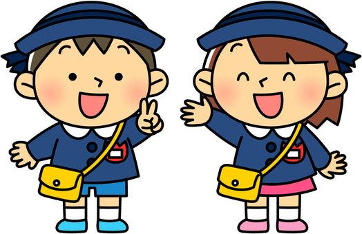 幼兒園與製服