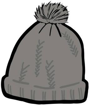 니트 모자 겨울 방한