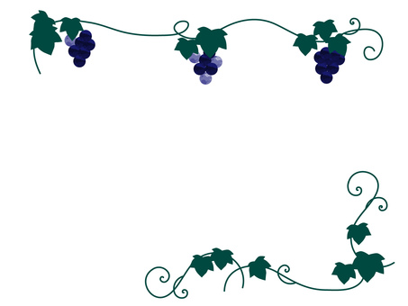 Grape decoration