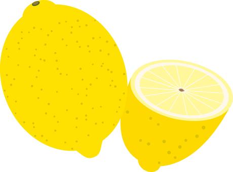 Food series fruit lemon