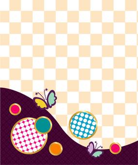 일본식 모던 무늬