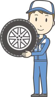 Male Mechanic-077-Full Body