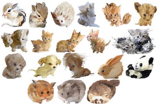 Lots of animal art works