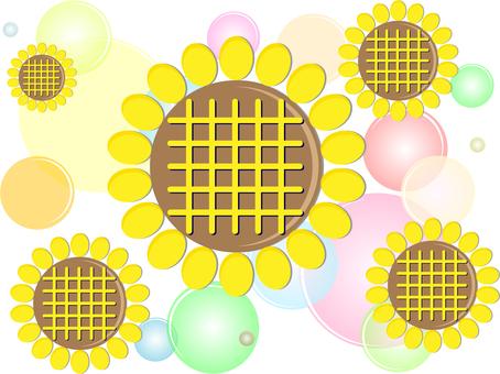 Sunflower decoration 01