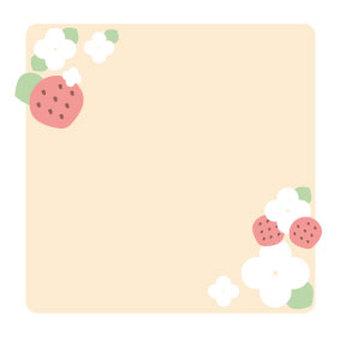 Strawberry frame 1-2