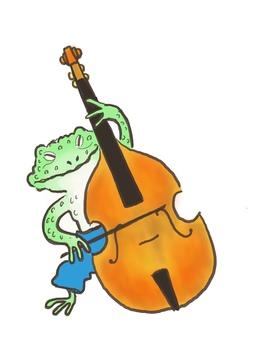 Contrabass frog 1