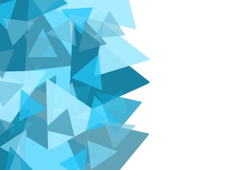 幾何背景白色