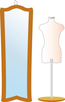 Torso and Mirror Fashion