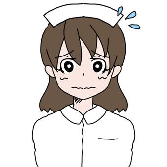 A woman's nurse (sweat)