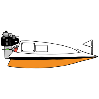 競艇ボート
