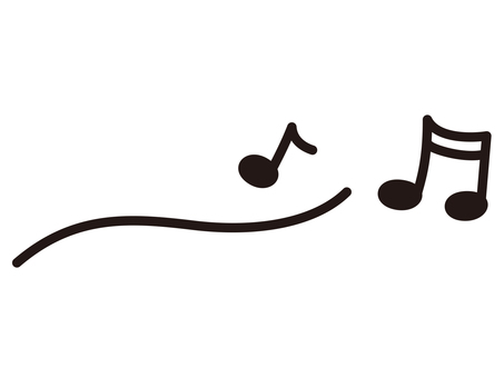 Musical note music