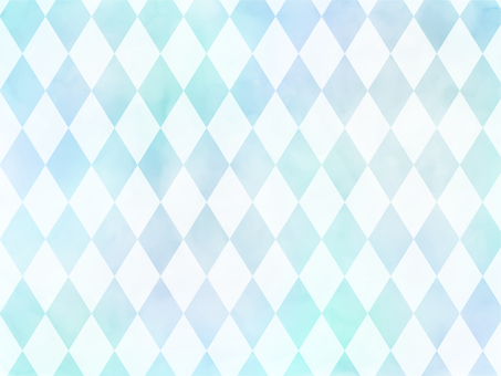Watercolor diamond light blue