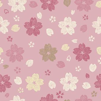 Sakura pattern 1 girly