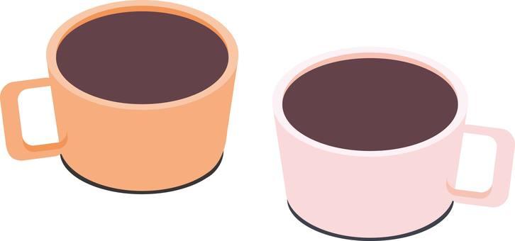 커피 코코아 커피 티타임