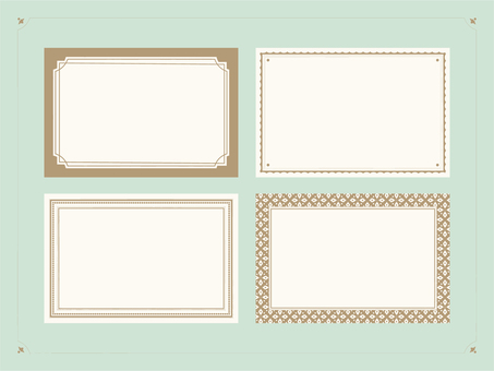 Vintage style label material 3