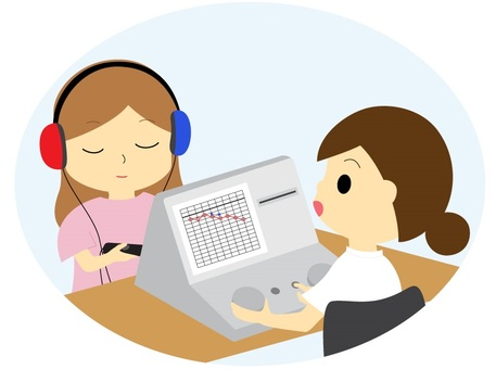Hearing audit _ pure tone hearing test
