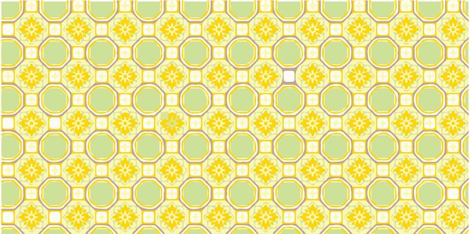 Cute tile pattern