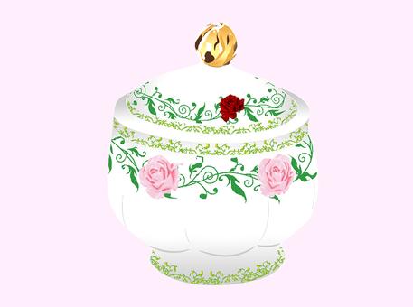 Royal sugar pot only
