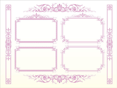 Antique Western-style Frame 05
