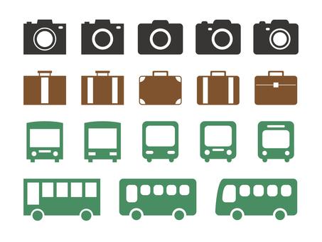 Flat travel material