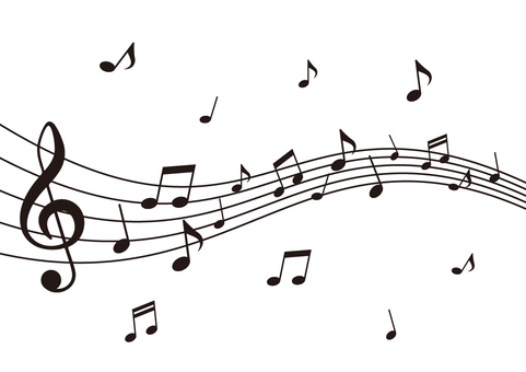 Simple musical note illustration