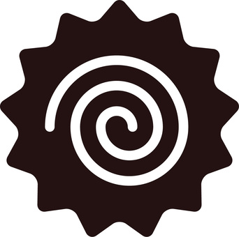 Naruto, Naruto roll, whirlpool silhouette