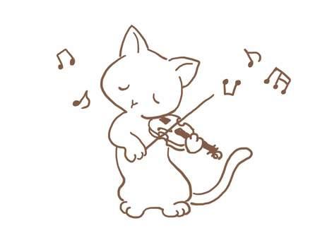 バイオリンねこ31
