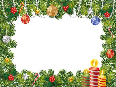 フレーム_クリスマス