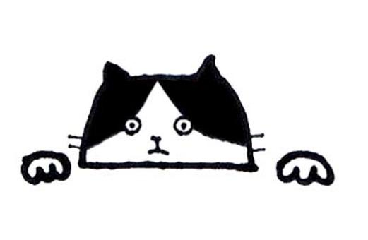 Peep cat