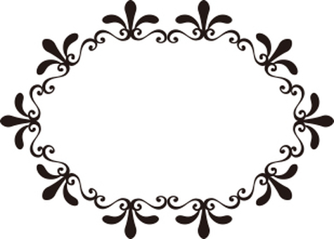 Plant decoration frame