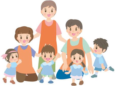 Nursery teacher mini C