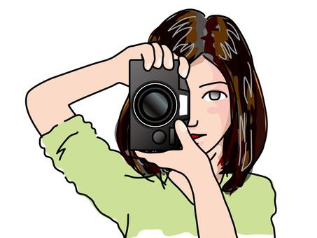 單鏡反光(10)女子A