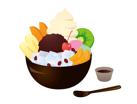 Japanese confectionery: Cream Anmatsu
