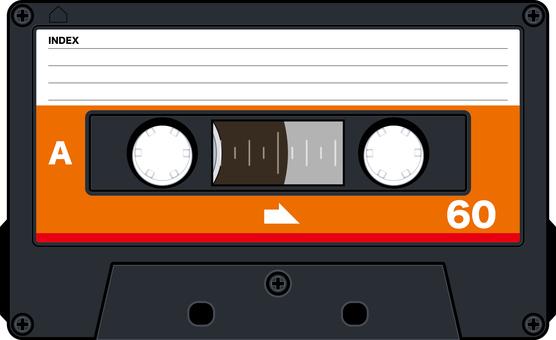カセットテープ アナログ レトロ