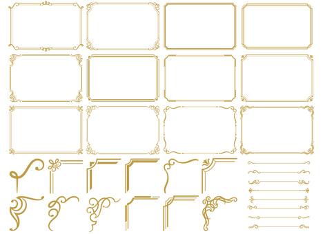 Frame set 12