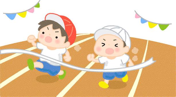 Sports festival race