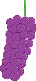 Food series fruit grapes