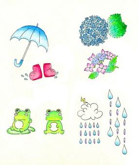 Rainy season set