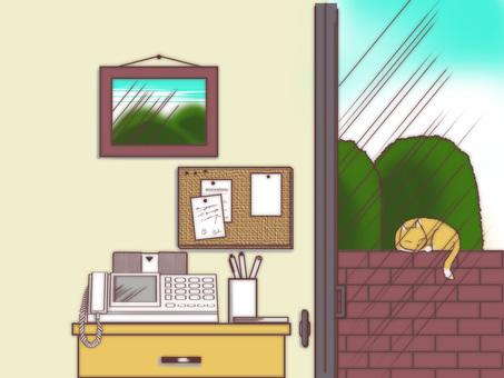 창가의 풍경 01