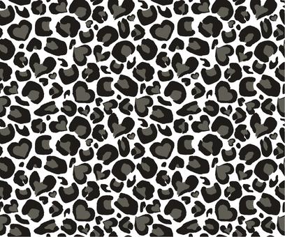 Leopard pattern _ gray