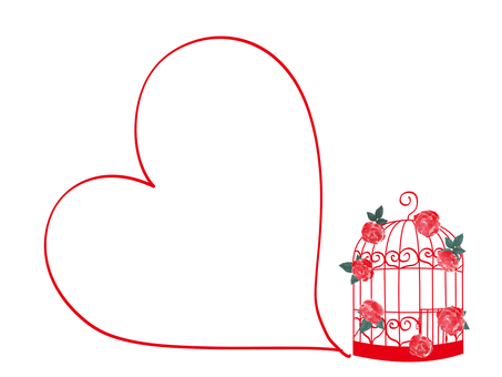 Fashionable bird cage card 2