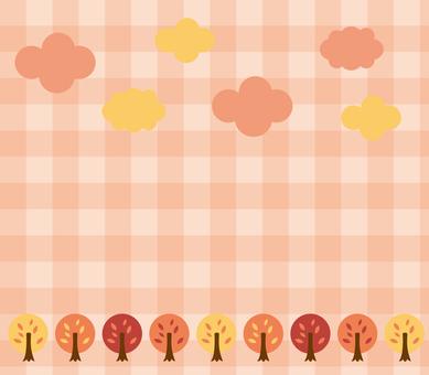 秋天樹背景4