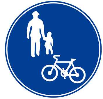 Bicycle and pedestrian only