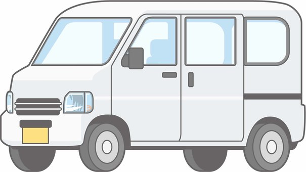 Car 01 - Light van - Single item - whole body