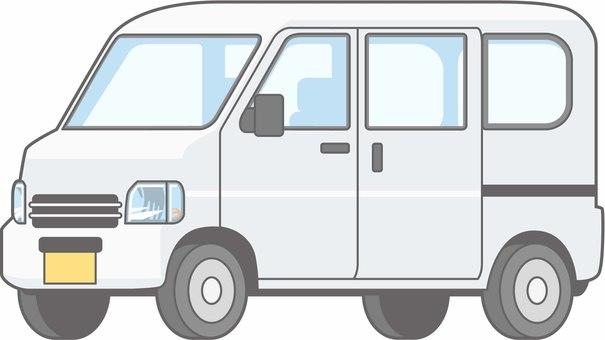 車01-軽バン-単品-全身