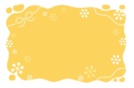 Snow and Yarn Yellow
