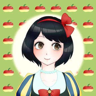 Girl icon 8