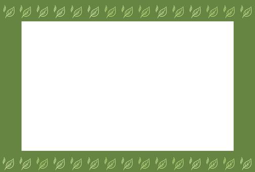 나뭇잎 프레임 1