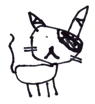【Handwritten】 cat