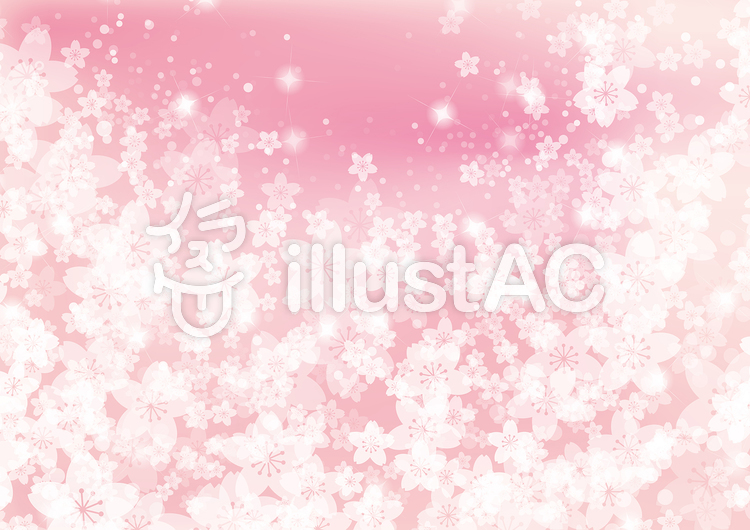 背景素材春の桜ピンクテクスチャのイラスト
